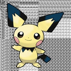 Pokemon: Pichu (Galar Pokédex #193 / National Pokédex #172)