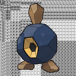Pokemon: Roggenrola (Galar Pokédex #168 / National Pokédex #524)