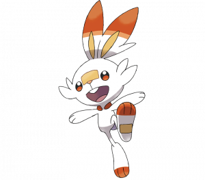 Pokemon: Scorbunny (Galar Pokédex #004 / National Pokédex #813)