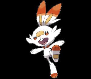 Pokemon: Scorbunny (Galar Pokédex #004 / National Pokédex #813)