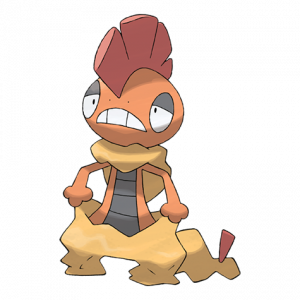 Pokemon: Scrafty (Galar Pokédex #225 / National Pokédex #560)