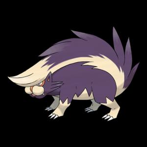 Pokemon: Skuntank (Galar Pokédex #131 / National Pokédex #435)