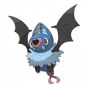 Pokemon: Swoobat (Galar Pokédex #175 / National Pokédex #528)