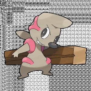 Pokemon: Timburr (Galar Pokédex #171 / National Pokédex #532)