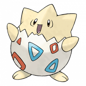 Pokemon: Togepi (Galar Pokédex #257 / National Pokédex #175)