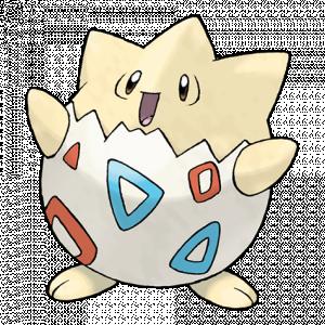 Pokemon: Togepi (Galar Pokédex #257 / National Pokédex #175)
