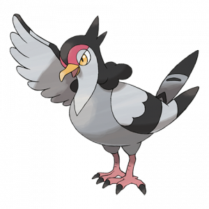 Pokemon: Tranquill (Galar Pokédex #027 / National Pokédex #520)