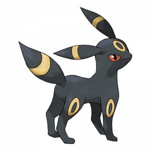 Pokemon: Umbreon (Galar Pokédex #201 / National Pokédex #197)