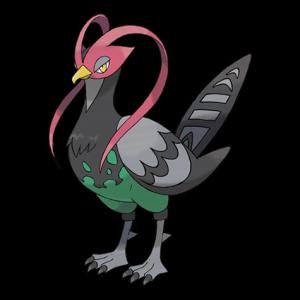 Pokemon: Unfezant (Galar Pokédex #028 / National Pokédex #521)