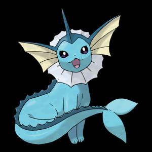 Pokemon: Vaporeon (Galar Pokédex #197 / National Pokédex #134)