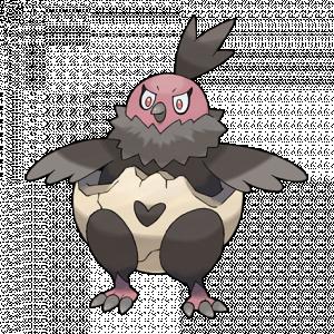Pokemon: Vullaby (Galar Pokédex #283 / National Pokédex #629)