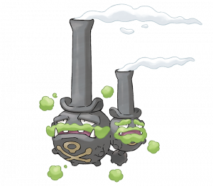 Pokemon: Weezing (Galarian) (Galar Pokédex #251 / National Pokédex #110)