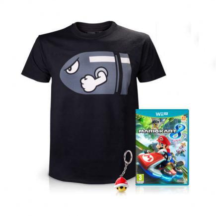 Exclusive Mario Kart 8 Bundle - Standard Edition (Extra Large T-Shirt)