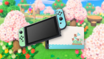 Animal Crossing New Horizons Skin for Nintendo Switch Dock and Joy-Con