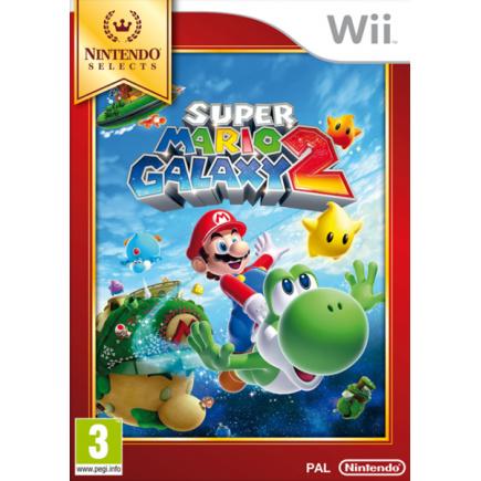 Wii Nintendo Selects Super Mario Galaxy 2
