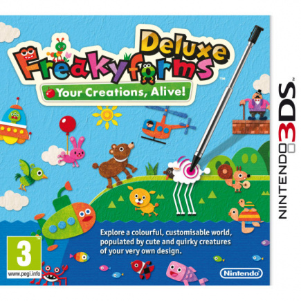 Freaky Forms Deluxe: Your Creations, Alive!