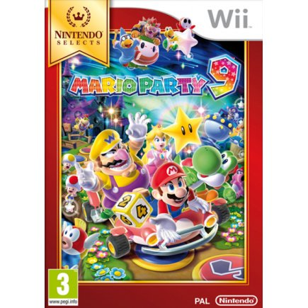 Wii Nintendo Selects Mario Party 9