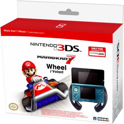 Nintendo 3DS Mario Kart 7 Wheel