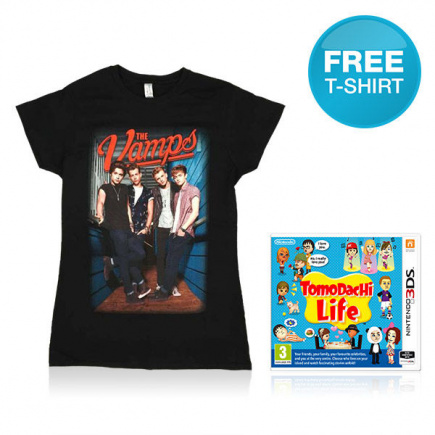 Tomodachi Life + The Vamps T-Shirt Pack