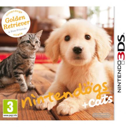 Nintendogs™ + Cats (Golden Retriever + New Friends)