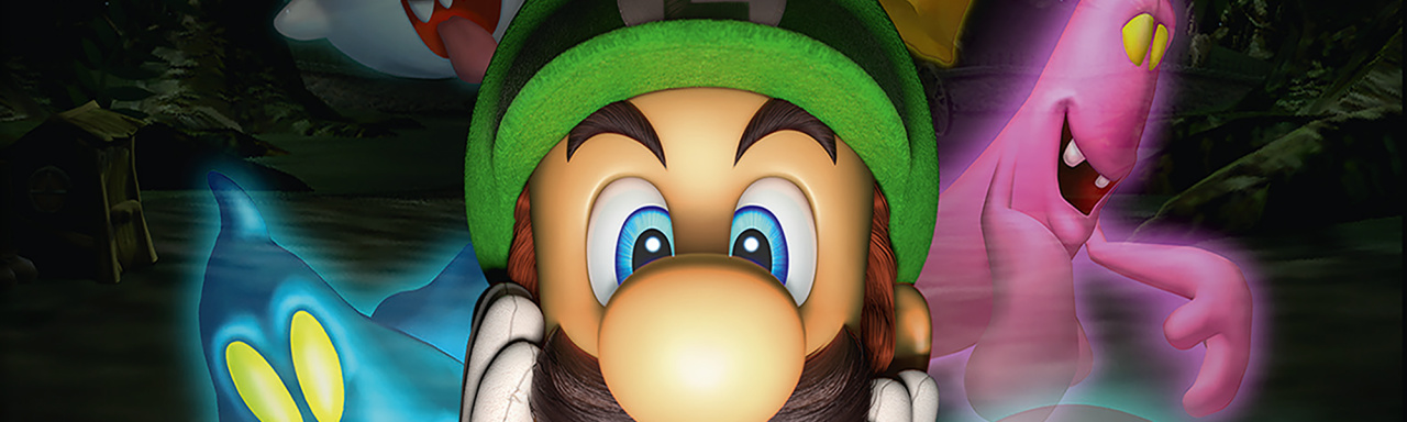 Luigis Mansion Review 3DS