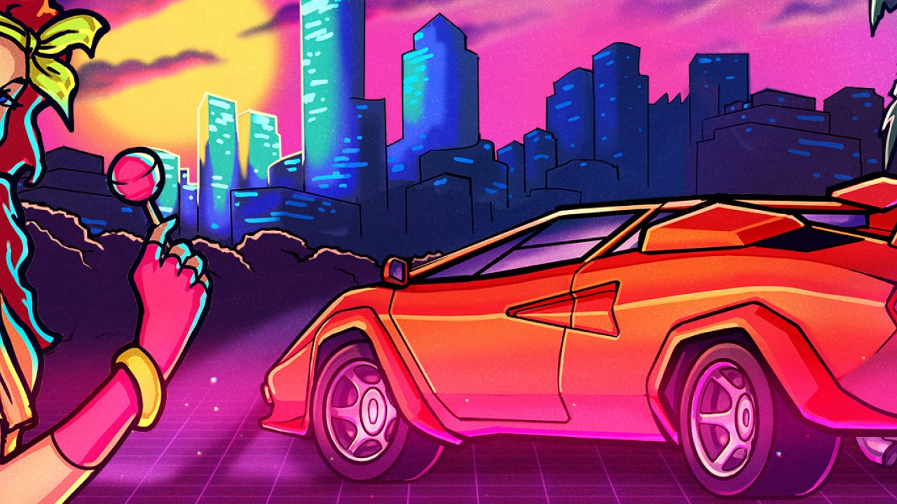 80's Overdrive Review (Switch eShop) 3