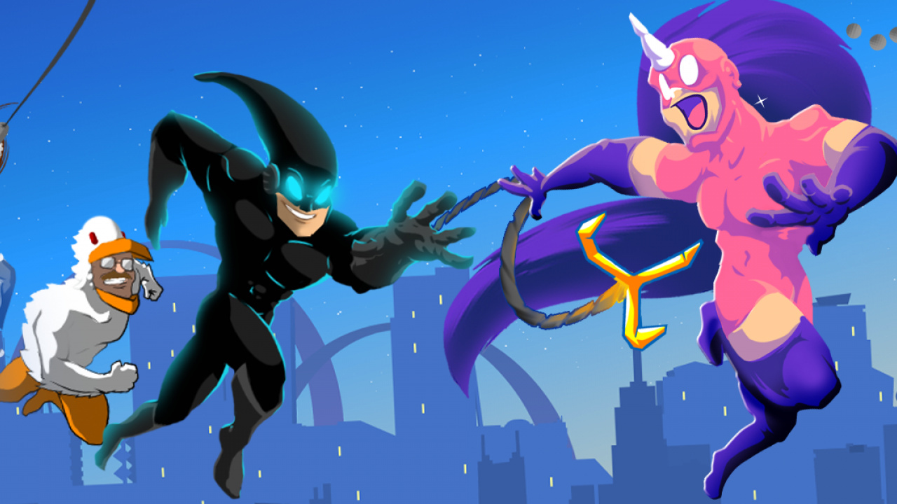 Review: SpeedRunners - Move Over Sonic, These Guys Have Some Serious Pace