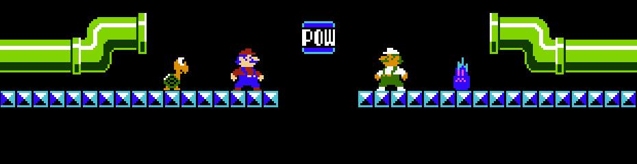 Image result for Mario Bros Arcade Luigi