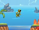 Review: Surfin' Sam - Attack of the Aqualites (Wii U eShop)