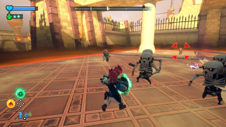 A Knight's Quest Review - Screenshot 3 of 4