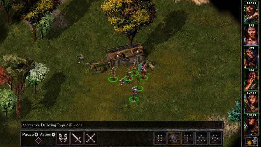 Baldur's Gate and Baldur's Gate II: Enhanced Editions Review - Screenshot 6 of 7