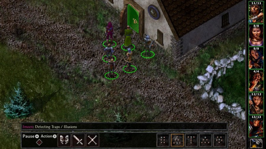 Baldur's Gate and Baldur's Gate II: Enhanced Editions Review - Screenshot 2 of 7