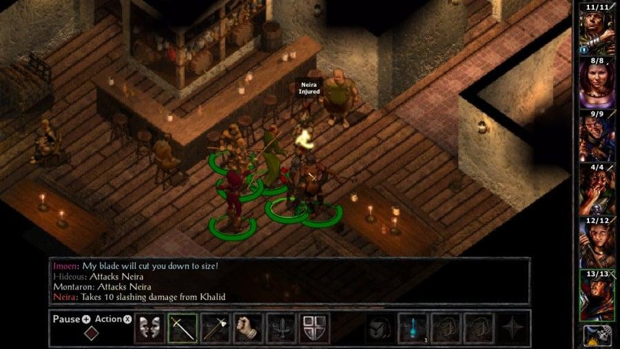 Baldur's Gate and Baldur's Gate II: Enhanced Editions Review - Screenshot 1 of 7