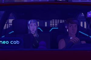 Neo Cab Screenshot