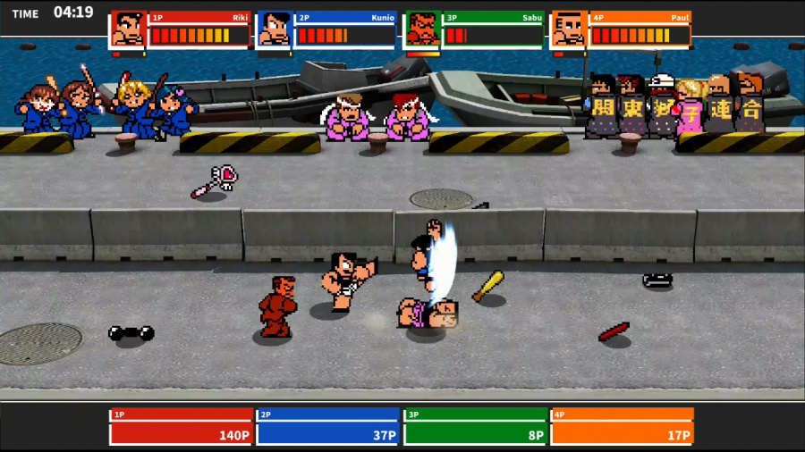 River City Melee Mach!! Review - Screenshot 1 of 4
