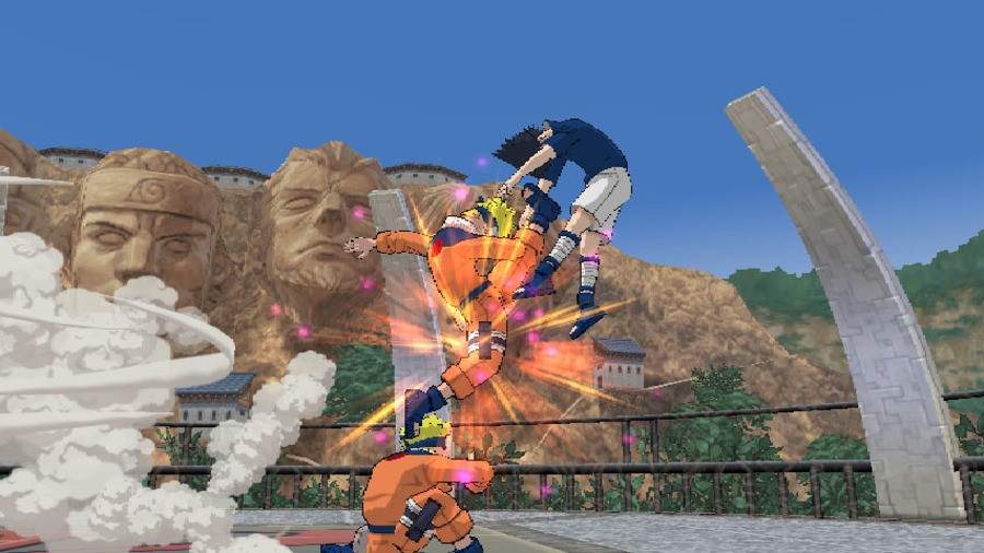 Naruto: Clash of Ninja Revolution 2 Screenshot