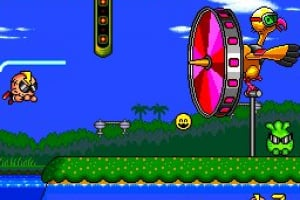 Super Air Zonk: Rockabilly Paradise Screenshot