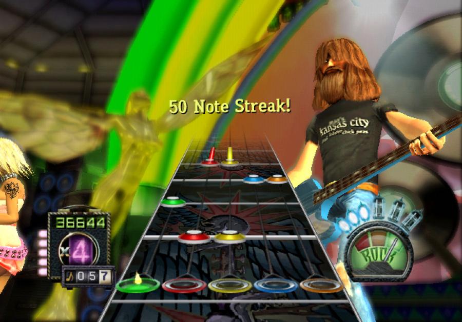 Guitar Hero: Aerosmith Review - Screenshot 1 of 4