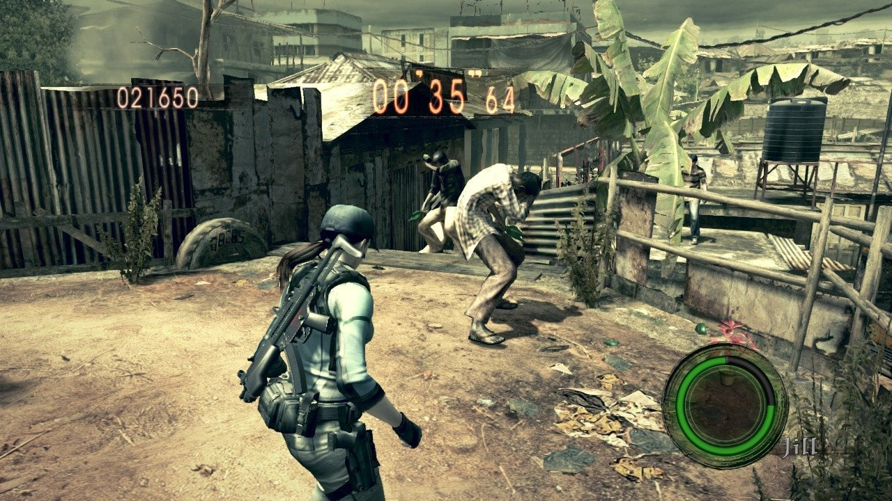 Review Resident Evil 5 More Action Than Horror And All The