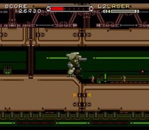 Cybernator Review - Screenshot 1 of 3