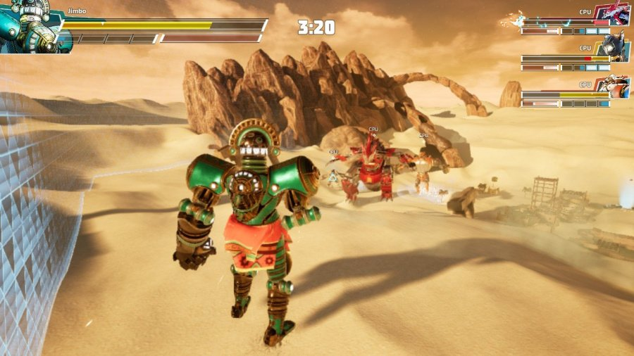 Override: Mech City Brawl - Super Charged Mega Edition Review - Screenshot 3 of 4