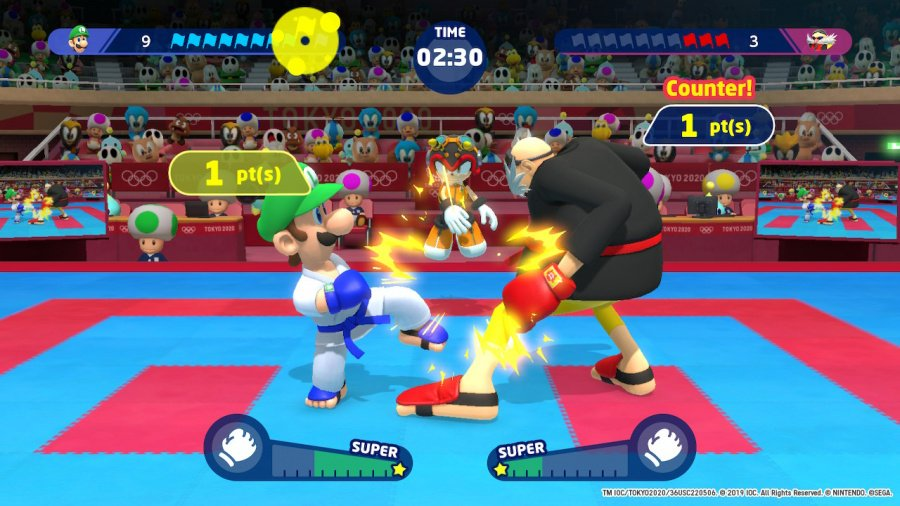 Mario & Sonic at the Olympic Games Tokyo 2020 Review - Screenshot 3 of 5