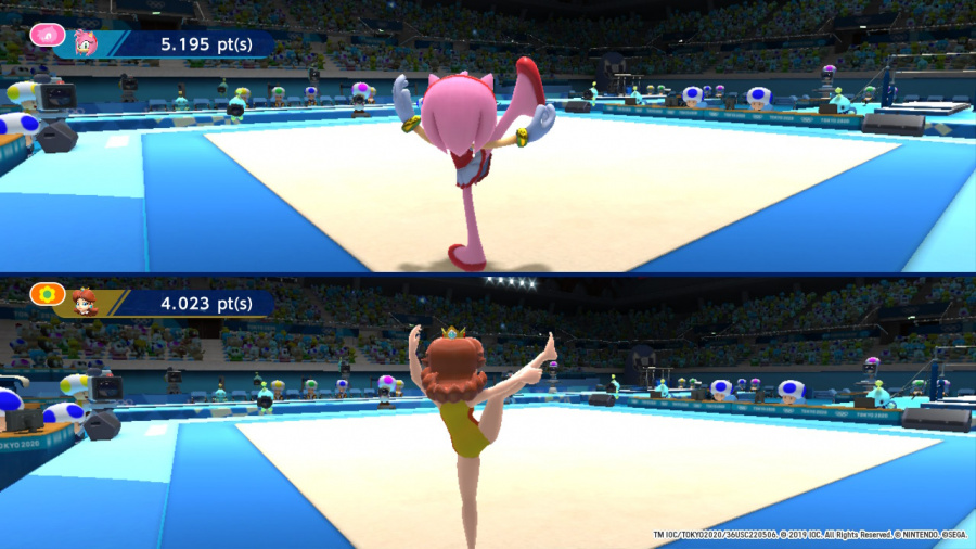 Mario & Sonic at the Olympic Games Tokyo 2020 Review - Screenshot 2 of 5