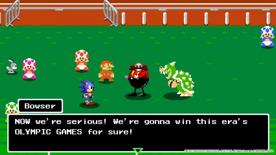 Mario & Sonic at the Olympic Games Tokyo 2020 Review - Screenshot 1 of 5