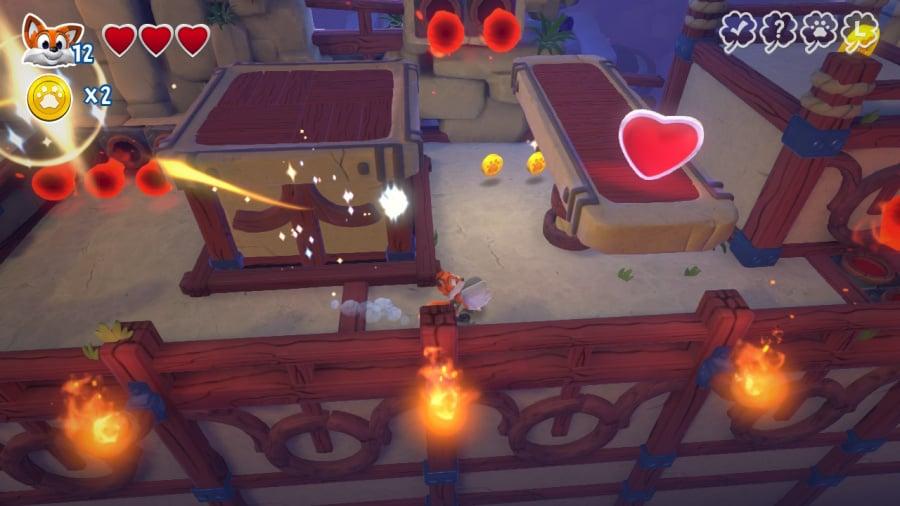 New Super Lucky's Tale Review: captura de pantalla 3 de 7