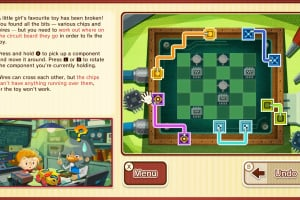 Layton's Mystery Journey: Katrielle and the Millionaires' Conspiracy - Deluxe Edition Screenshot