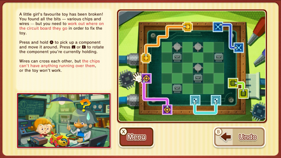 Layton's Mystery Journey: Katrielle and the Millionaires' Conspiracy - Deluxe Edition Review - Screenshot 6 of 6