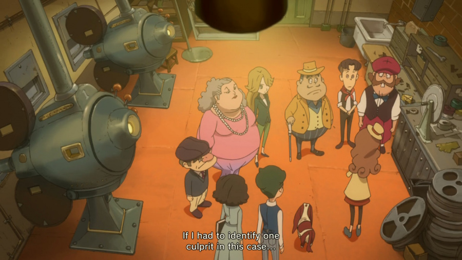 Layton's Mystery Journey: Katrielle and the Millionaires' Conspiracy - Deluxe Edition Review - Screenshot 4 of 6