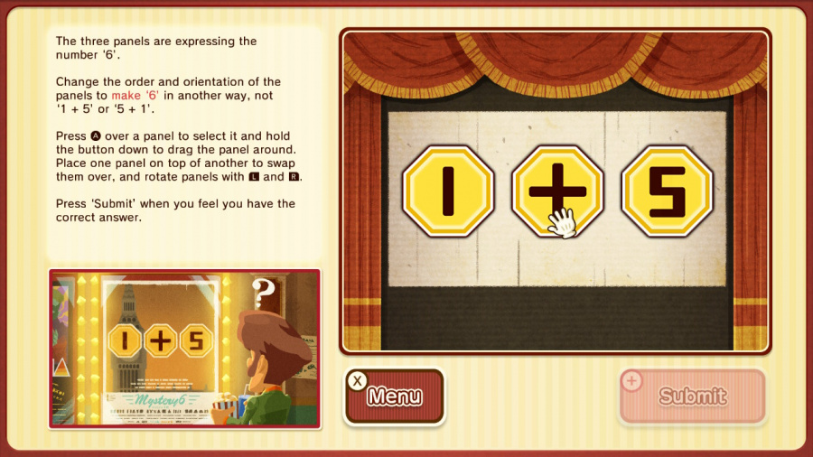 Layton's Mystery Journey: Katrielle and the Millionaires' Conspiracy - Deluxe Edition Review - Screenshot 1 of 6