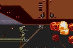 Cybernator Screenshot